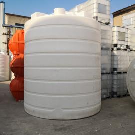 20吨塑料水塔 滚塑定制化工储罐 电镀厂大容积废液储罐厂家直销