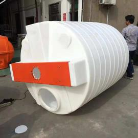 厂家直销3吨锥底加药箱锥底循环搅拌桶化工立式加药桶