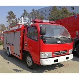 灭火车-东风4-6吨水罐(泡沫)消防车