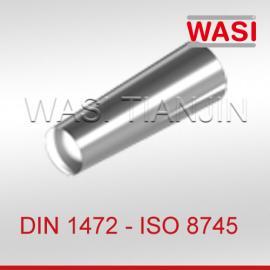槽销半长锥槽ISO8745 DIN1472