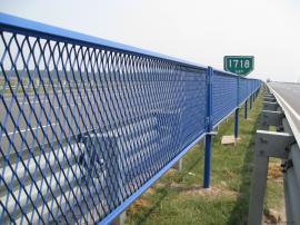 公路防眩网防护栅栏桥梁防抛网高速公路隔音声屏障