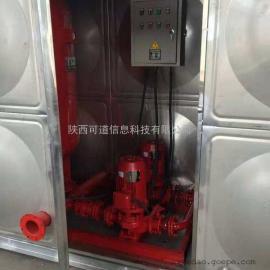 箱泵一体化消防给水设备安装