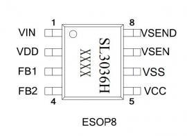 120V电动车降压恒压IC恒压5V2A输出