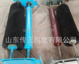 厂家直销 电刷式皮带清扫器 高分子皮带清扫器 皮带滚刷式清扫器
