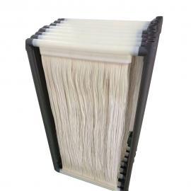 厂家直供 加强型mbr膜 高通量 抗污染 帘式中空纤维mbr膜