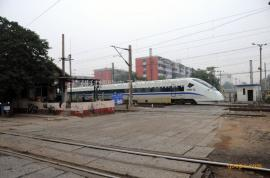 铁路道口火车安全监控识别预警系统