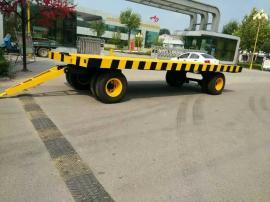 10吨重型平板拖车,重型牵引平板拖车,货运平板拖车直销,平板车