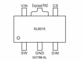 SL4015替代PT4115降压恒压IC