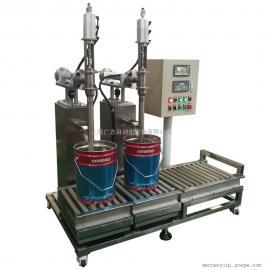 化工,涂料,润滑油灌装线 树脂自动灌装机