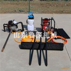 鲁探BXZ-1单人背包钻机便携式地质浅层岩心取样钻机