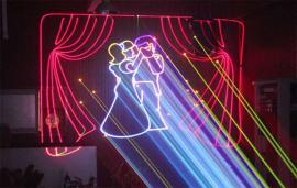 婚礼激光灯