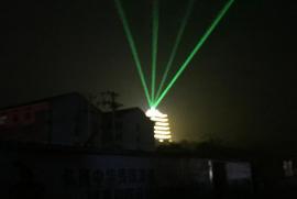 楼顶激光灯