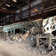 废钢鳞板输送机