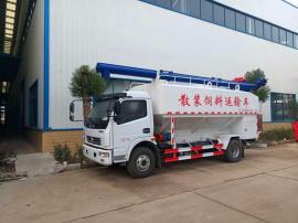 改装8吨散装饲料运输车厂