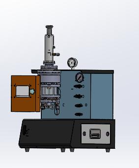 迷你真空电弧炉实验室专用桌面式电弧熔炼炉