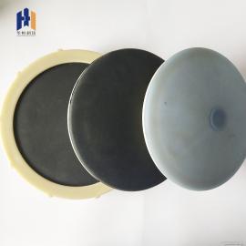 水处理工程膜片式曝气器 盘式215平板260纳米微孔曝气头曝气盘