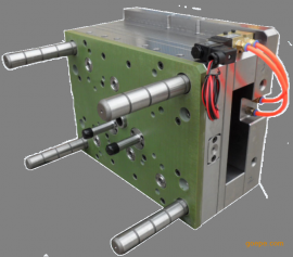 LSR冷流道系统 手机卡槽防水液态硅胶冷流道