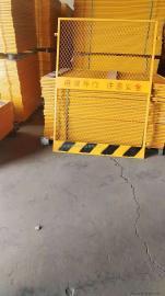 施工楼层电梯井口防护门 电梯井口安全防护门 洞口安全防护网