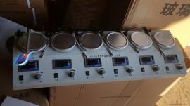 HJ-6A多头磁力加热搅拌器(异步)