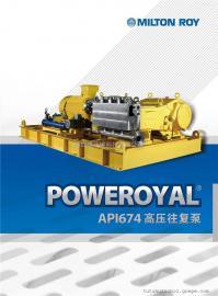 米顿罗Poweroyal高压往复泵