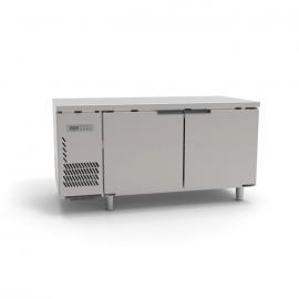 HECMAC/海克 风冷冷藏工作台不锈钢大双门商用厨房操作台246L