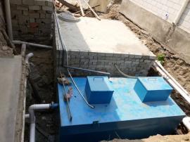 地埋式生活污水处理设备整体配置