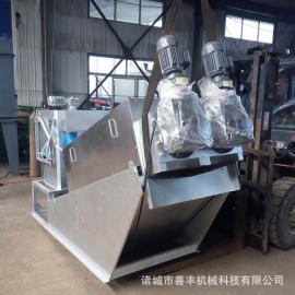 工业含油污泥脱水机 节能小型叠螺污泥脱水机