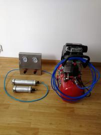 建筑密封胶挤出器使用方法