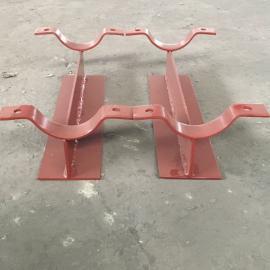 T型管托-管夹管托-碳钢管托