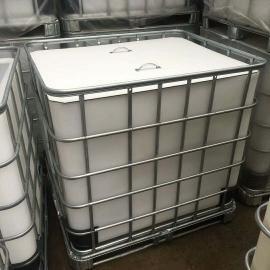 敞口吨桶1000L污泥收集专用集装箱1吨方形塑料桶可定制