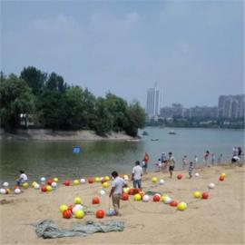 海上沙滩警示水深区危险区专用塑料浮球