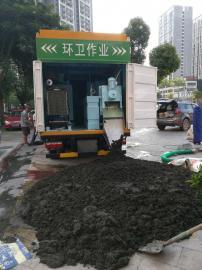 吸粪净化车,多功能粪便净化车,污泥处理净化车