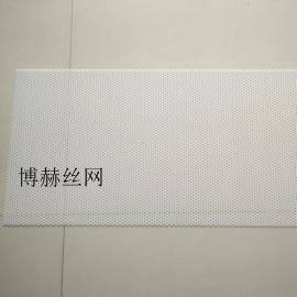 专业生产塑料冲孔网 货架装饰PP板 圆孔冲孔筛板