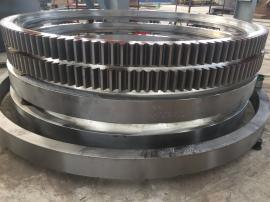 1.8X18米铝厂用滚筒烘干机大齿轮