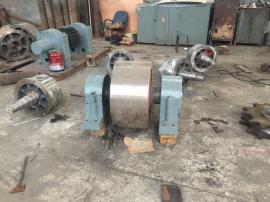 氧化铝3.6X7米三筒烘干机托轮总成配件