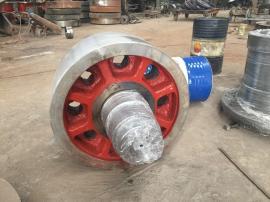 小型烘干机托轮(铝粉烘干)