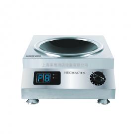 HECMAC/海克 商用电磁炉台面式5000W大功率电磁炉匀火电磁炒灶