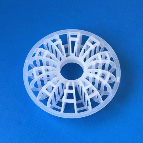 湿式洗烟塔减湿部填料145×48mm花环145mm花环填料PP泰勒花环