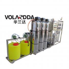 湿巾制造厂用去离子高纯水设备 华兰达热销高精度EDI超纯水设备