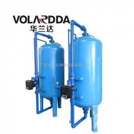 家用井水铁猛离子悬浮物超标水浑浊 用华兰达多介质机械过滤器