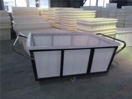 300L容量聚乙烯塑料方形箱