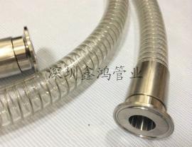 无塑化剂食品级输酒软管-pu透明钢丝平滑管