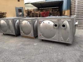 不锈钢水箱 聚氨酯保温水箱 屋顶消防水箱组合不锈钢水箱