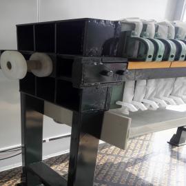 电镀废水污泥固液分离设备压榨液压手动板框压滤机