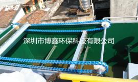 定制印染厂高浓废水溶气式气浮机10T/H除油除渣设备