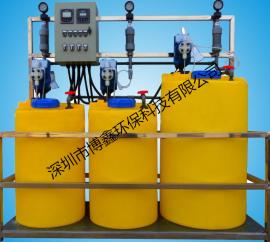 废水站全自动一体化加药装置 PAC搅拌设备 加工定制