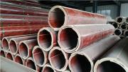 日京建材圆柱子木模板成型后清水效果好