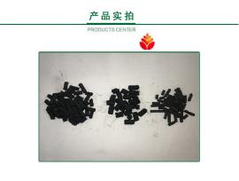 过滤池煤质柱状炭棒滤芯活性炭高效水质净化用煤质柱状活性炭