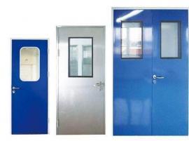 中钰不锈钢密闭门 净化厂房专用洁净门