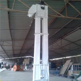 常规塑料斗带式大米提升机密封 沙子斗提机